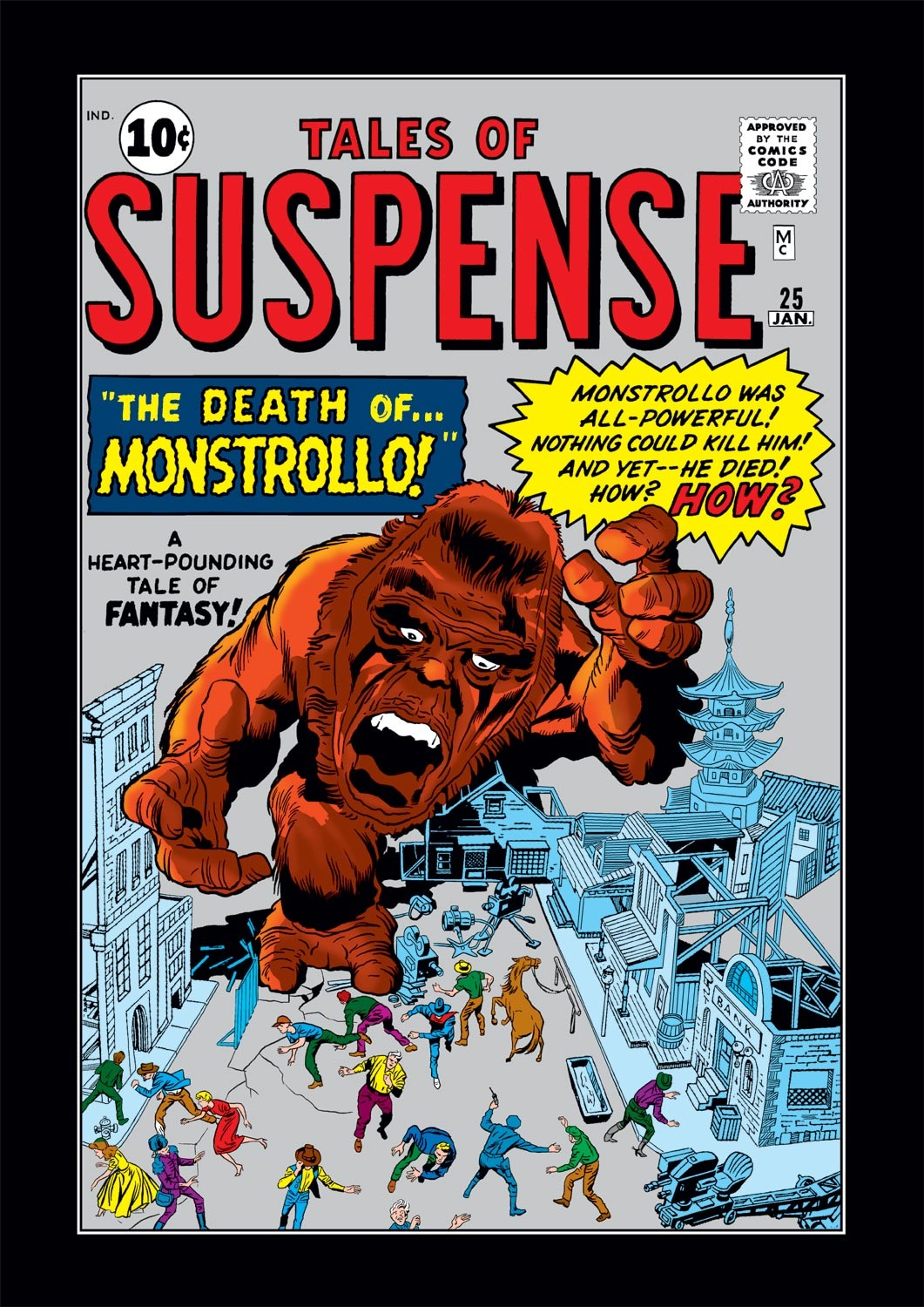 Tales of Suspense (1959) issue 25 - Page 1