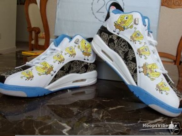 Spongebob Jordan Shoes For Kids - Notary Chamber 8ba91d83a7