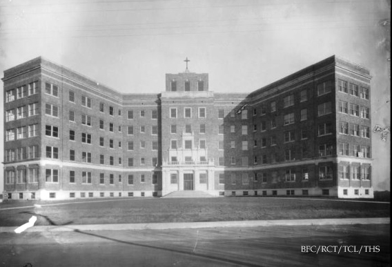 Tulsa Gal: St  John Hospital- In The Beginning
