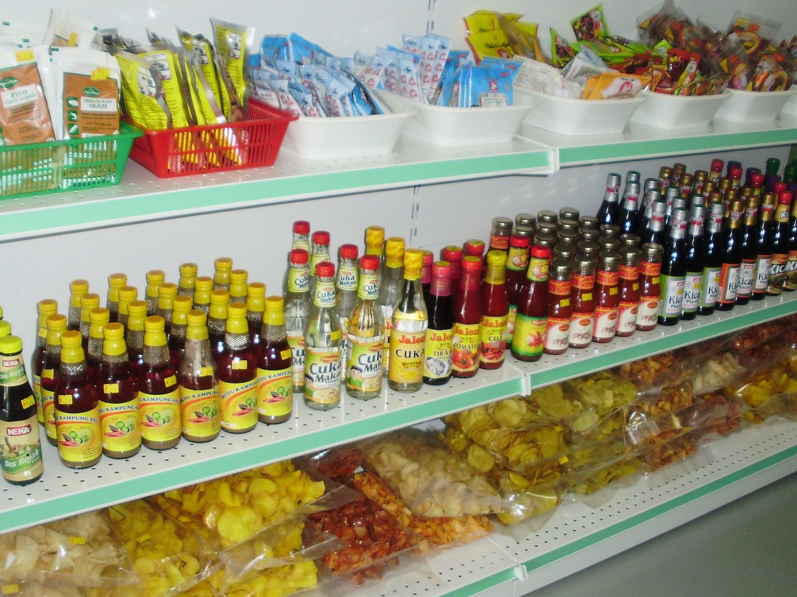 Pelbagai Barangan Kering Untuk Masakan Dapur Keluaran Iputera Seperti Rempah Ratus Beehoon Makanan Segera Mee Bandung Hailam