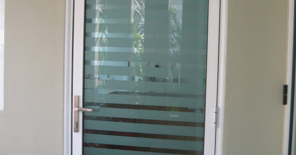Glass Door Malaysia Aluminium Glass Door With Frosted