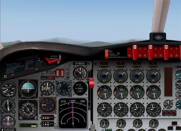 The Flightsimulator Fan Blog: Review new FS9 Lockheed L-188