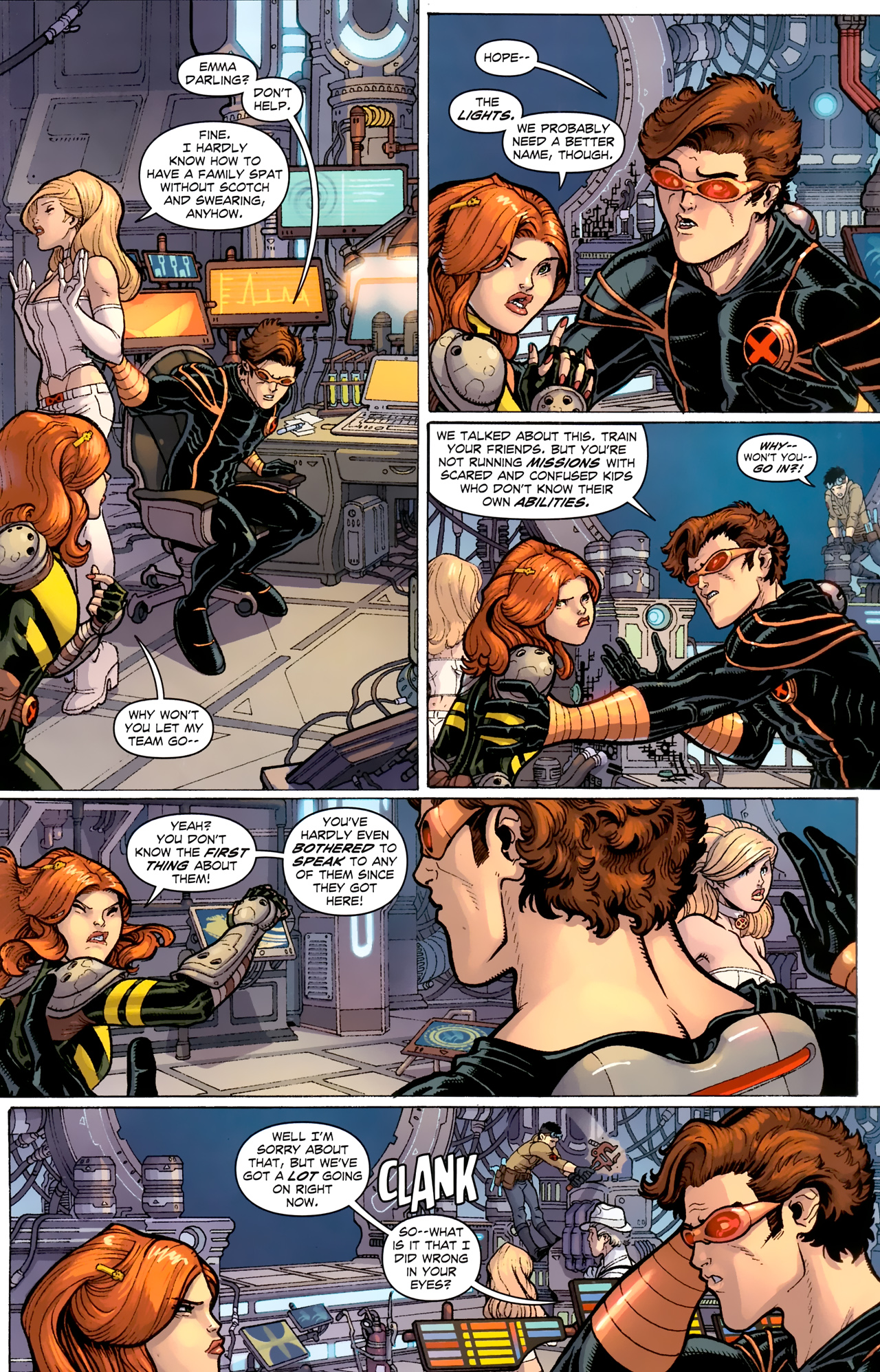 Read online Uncanny X-Men (1963) comic -  Issue # _Annual 3 (2011) - 4