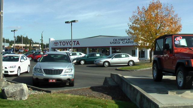 Used Cars Olympia >> Toyota Of Olympia Used Cars Center