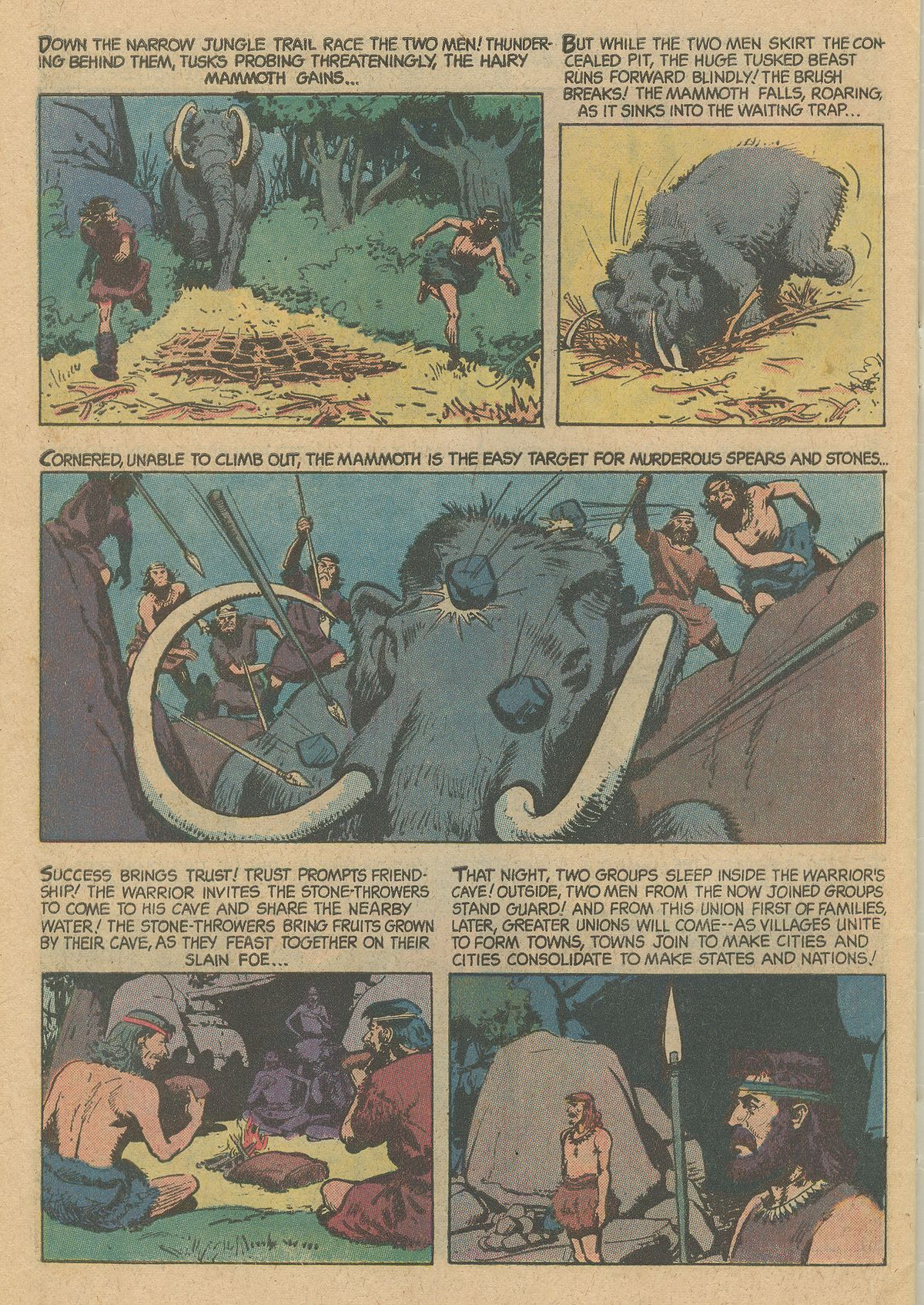 Read online Turok, Son of Stone comic -  Issue #128 - 34