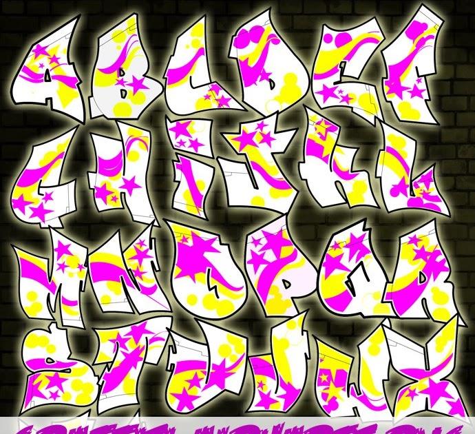 Download Efeito Photoshop: Graffiti Alphabet Pack