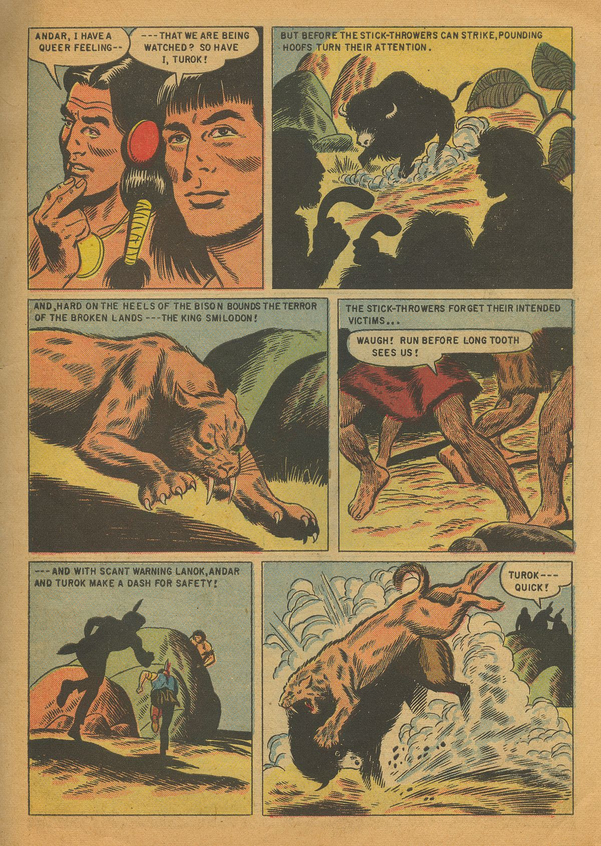 Read online Turok, Son of Stone comic -  Issue #4 - 31