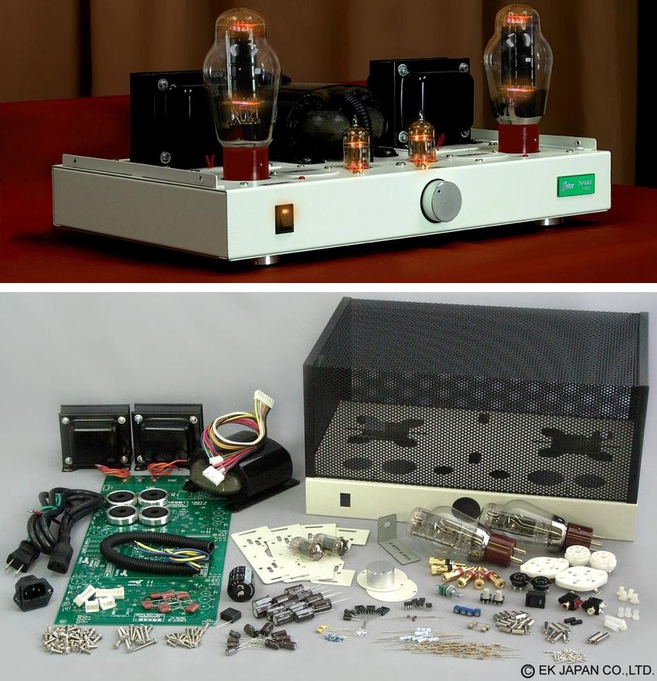 Diy Audio Projects Hi Fi Blog For Audiophiles April 2010 Hifi Grado Ra1 Headphone Amplifier Elekit Tu 8300 300b Tube Kit