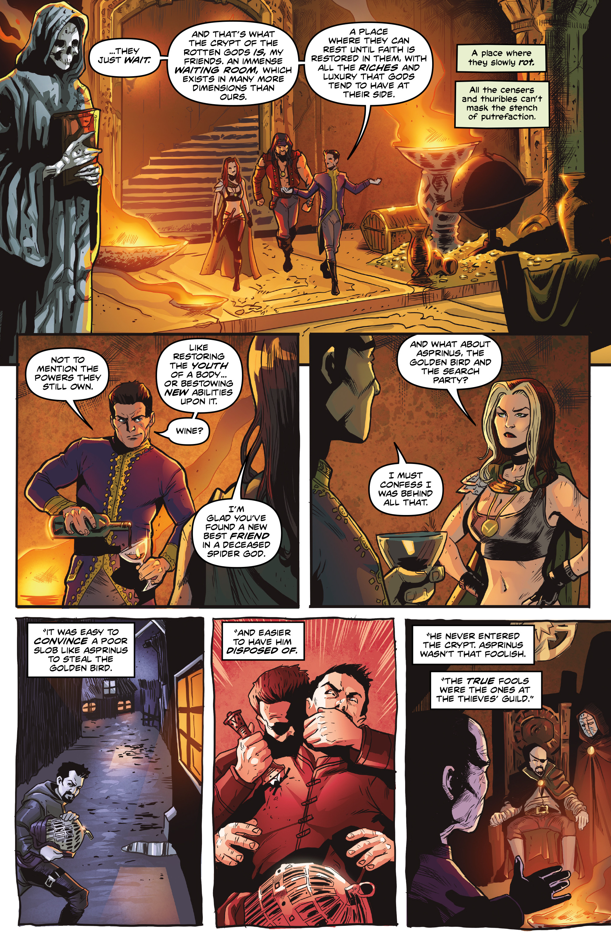 Read online Rogues!: The Burning Heart comic -  Issue #5 - 11