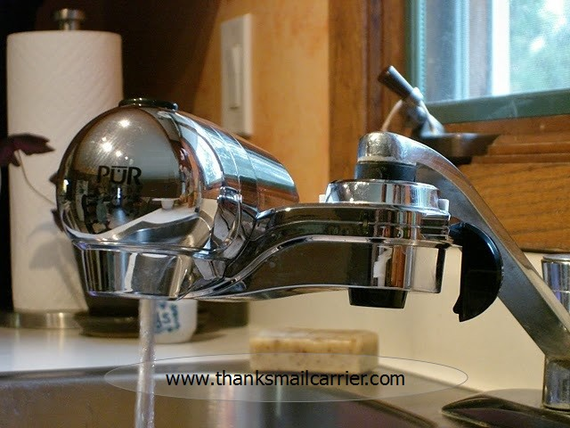 Thanks Mail Carrier Pur One Click Faucet Mount Review