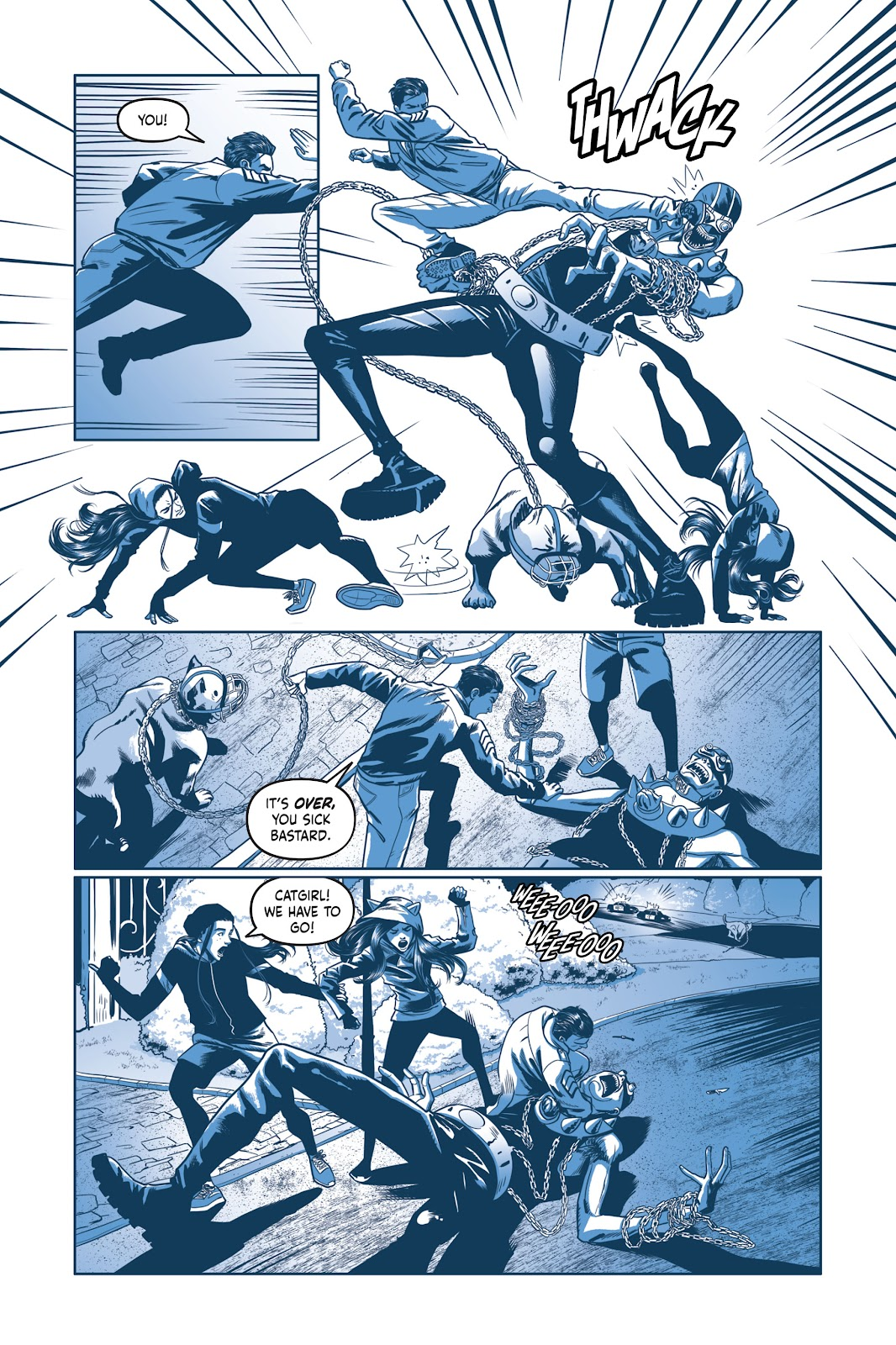 Read online Under the Moon: A Catwoman Tale comic -  Issue # TPB (Part 2) - 52