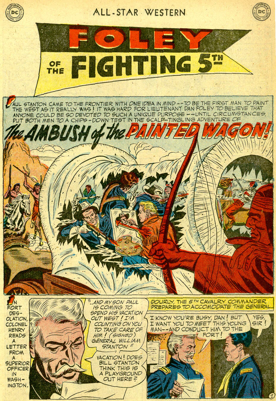 Read online All-Star Western (1951) comic -  Issue #68 - 19