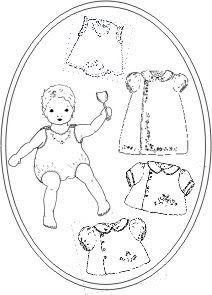 The Old Fashioned Baby Sewing Room: Baby's Summer Clothes