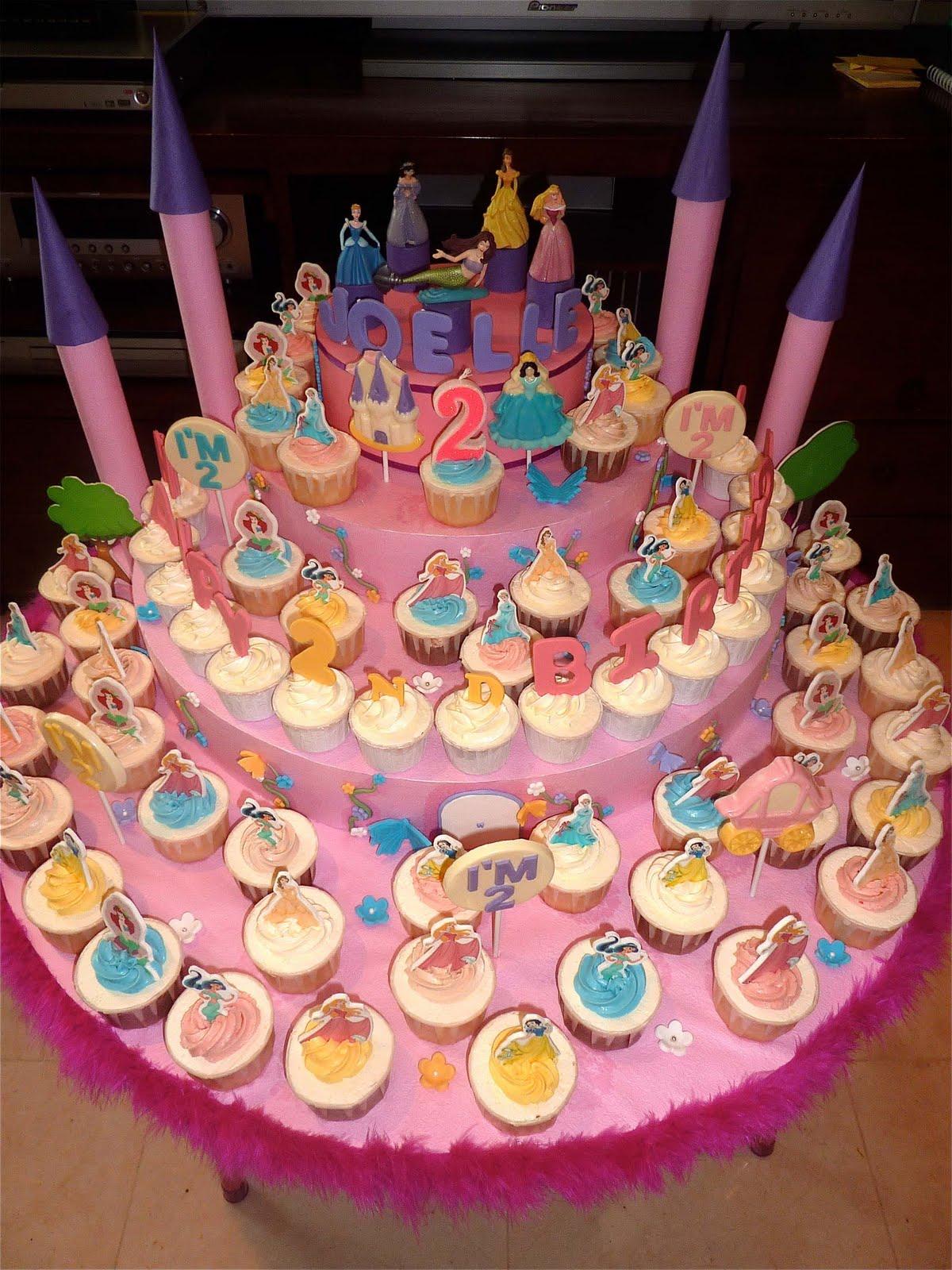 Little Miss Cupcakes Princess Cupcakes
