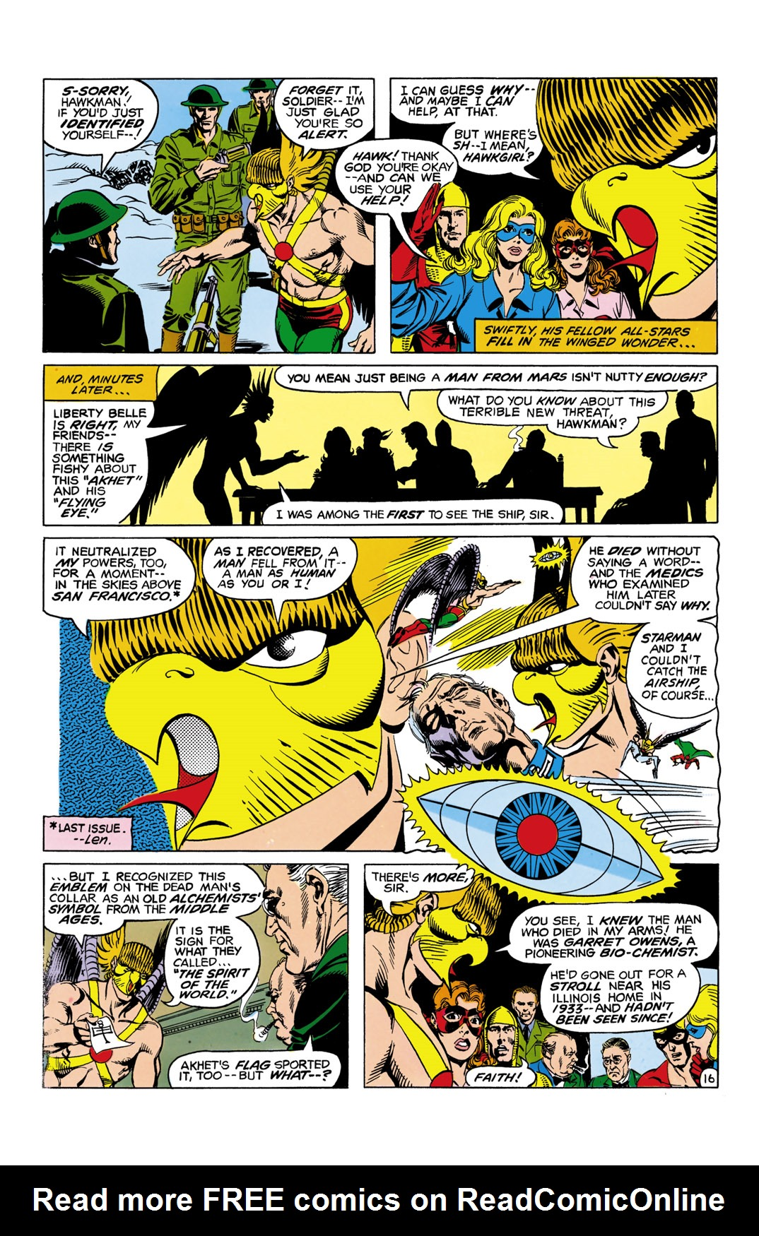 Read online All-Star Squadron comic -  Issue #11 - 17