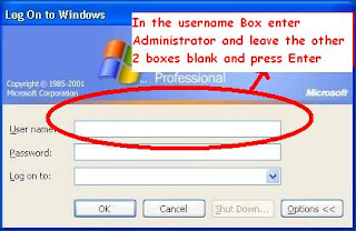 how to delete the admin acount