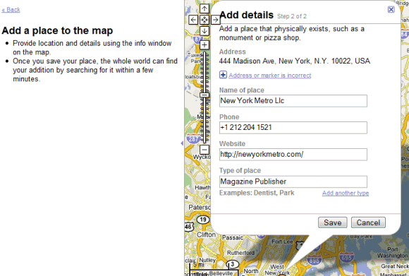 Google Operating System Add Edit And Delete Places In Google Maps