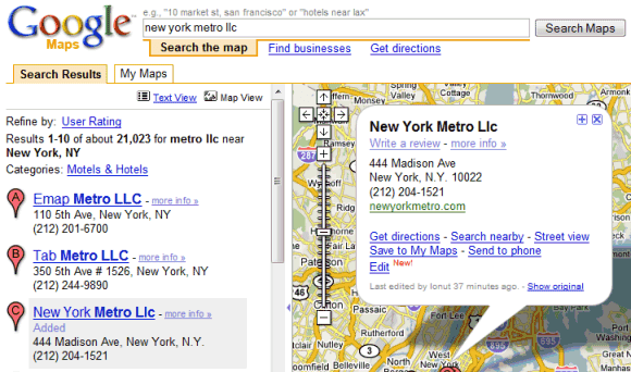 How To Put Subway Map On Google Maps.Add Edit And Delete Places In Google Maps