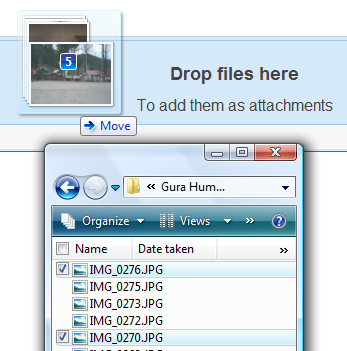 Google Operating System: Drag and Drop Gmail Attachments