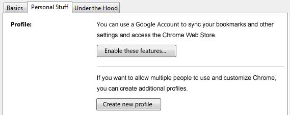 Google Chrome and Multiple Profiles