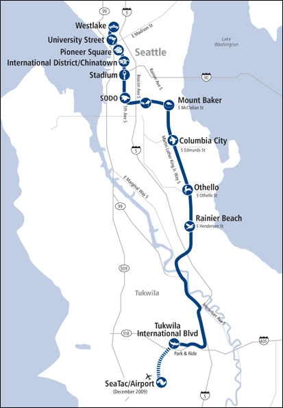 Sea-Tac Airport to Downtown Seattle via Light Rail Train ... on seattle airport airline map, seattle rail map, seattle transit system map, seattle transportation map, seattle bus map, seattle metro map, seattle buildings map, seattle sea airport map, seattle seatac airport map, seattle downtown visitor map, seattle city map pdf, bellevue train map, seattle attractions map, seattle light link schedule, seattle lightrail, seattle airport parking map, seattle washington map, seattle airport train station, downtown seattle street map, seattle tacoma airport map,