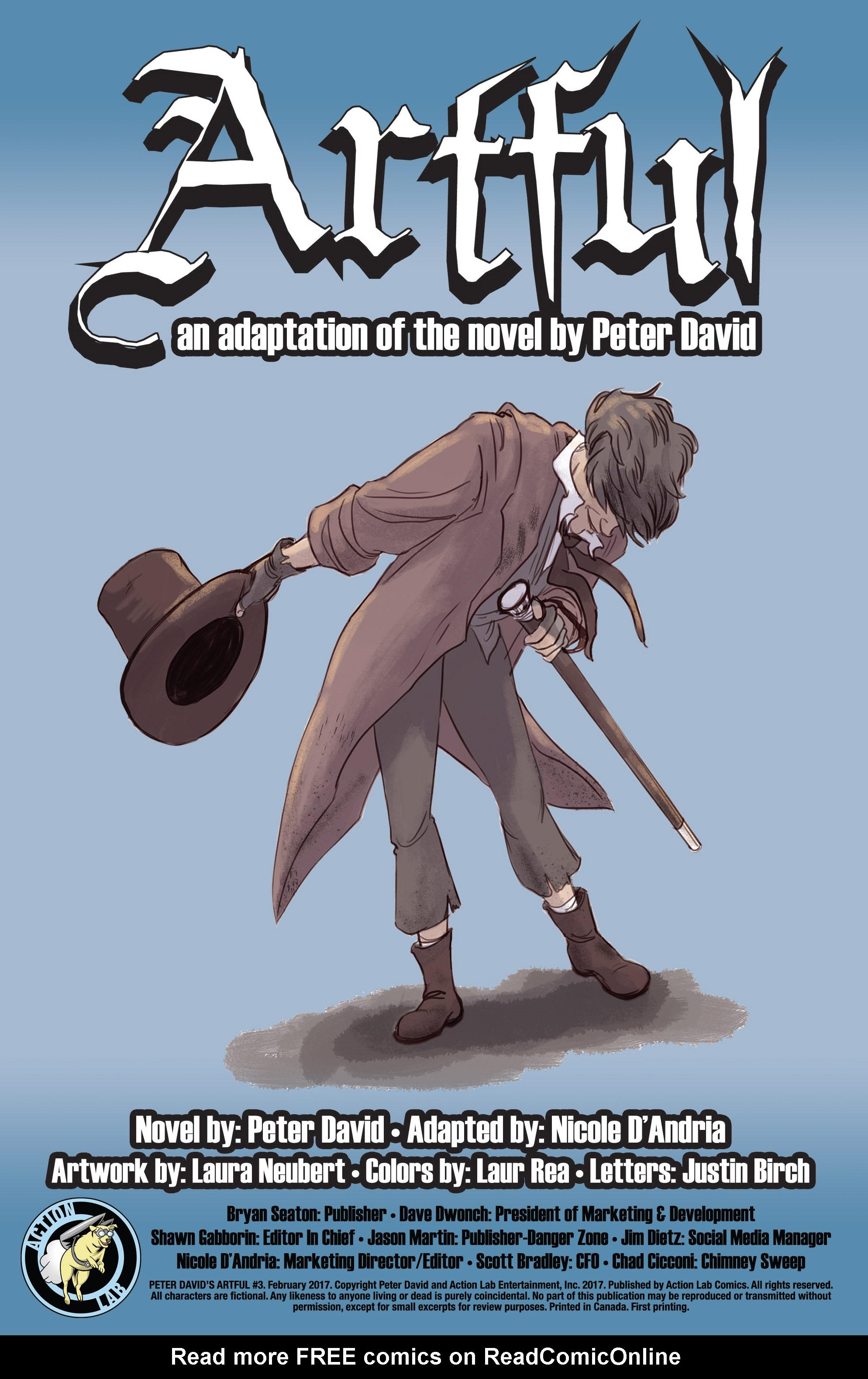 Read online Artful comic -  Issue #3 - 2