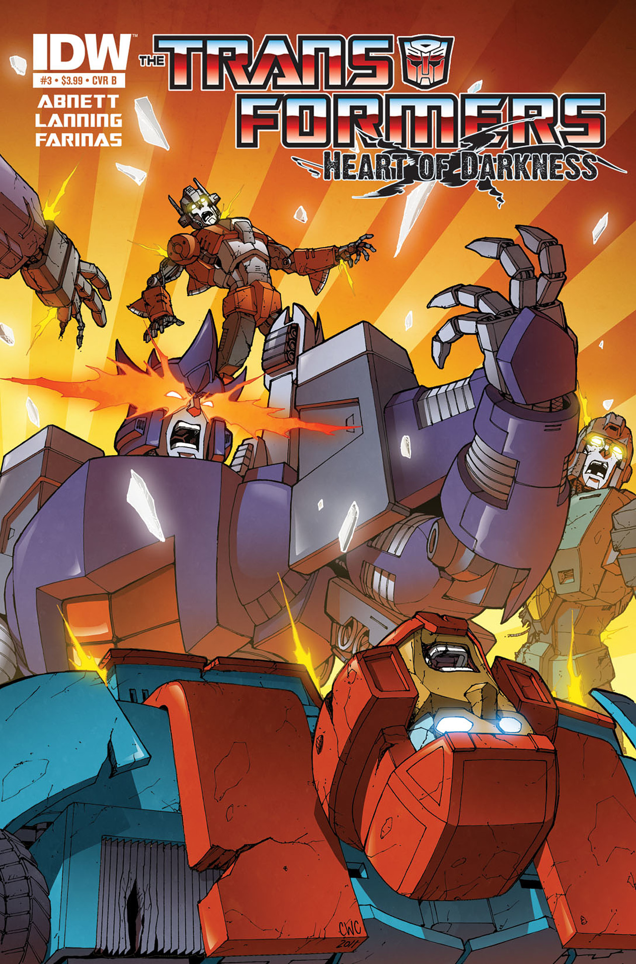 Read online Transformers: Heart of Darkness comic -  Issue #3 - 2