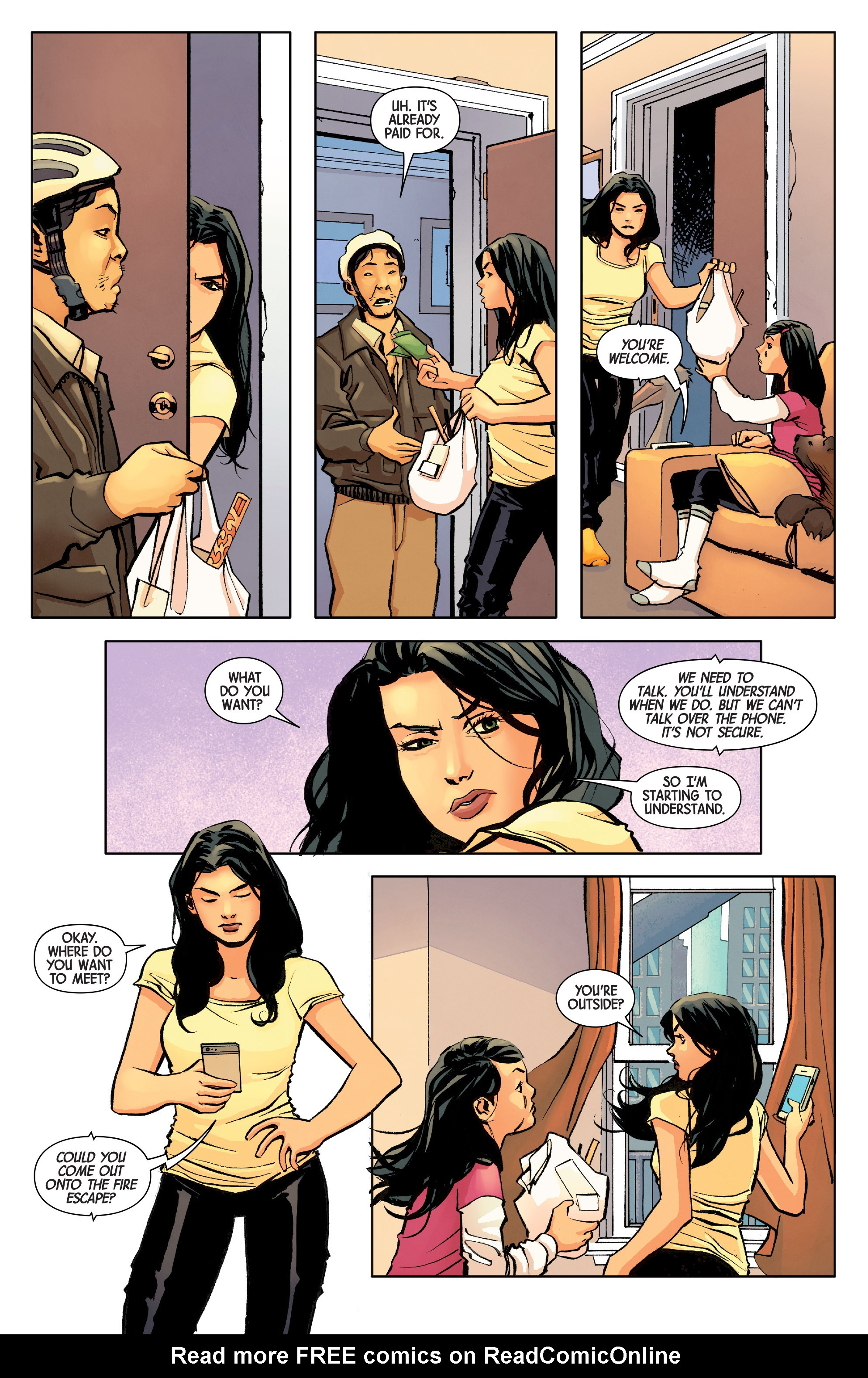 Read online All-New Wolverine (2016) comic -  Issue #8 - 11
