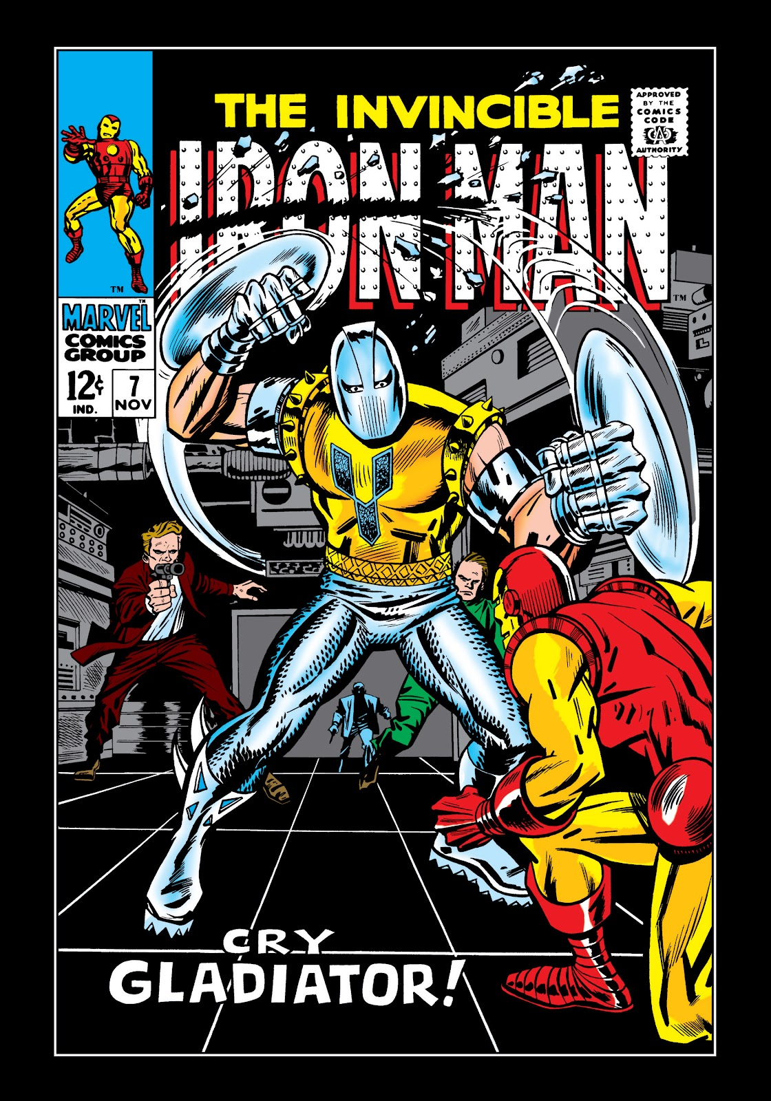 Read online Marvel Masterworks: The Invincible Iron Man comic -  Issue # TPB 5 (Part 2) - 12