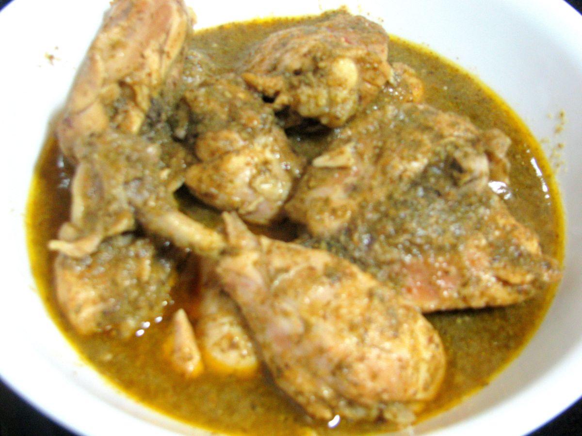 Mint Coconut Chicken Recipe