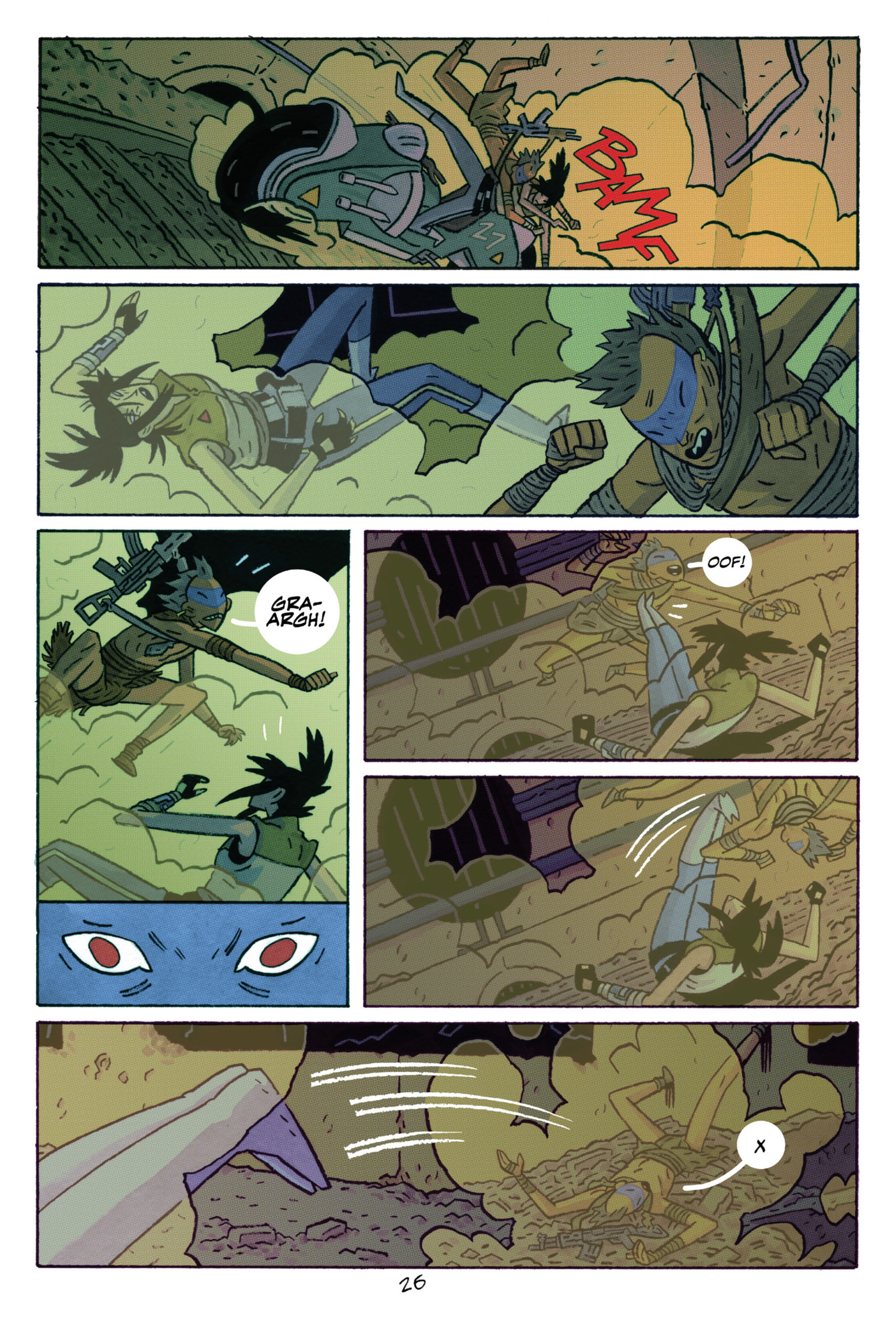 Read online ApocalyptiGirl: An Aria for the End Times comic -  Issue #ApocalyptiGirl: An Aria for the End Times Full - 34