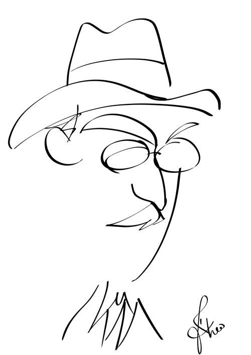 Fernando Pessoa, Portuguese Poet and Writer by Fábio