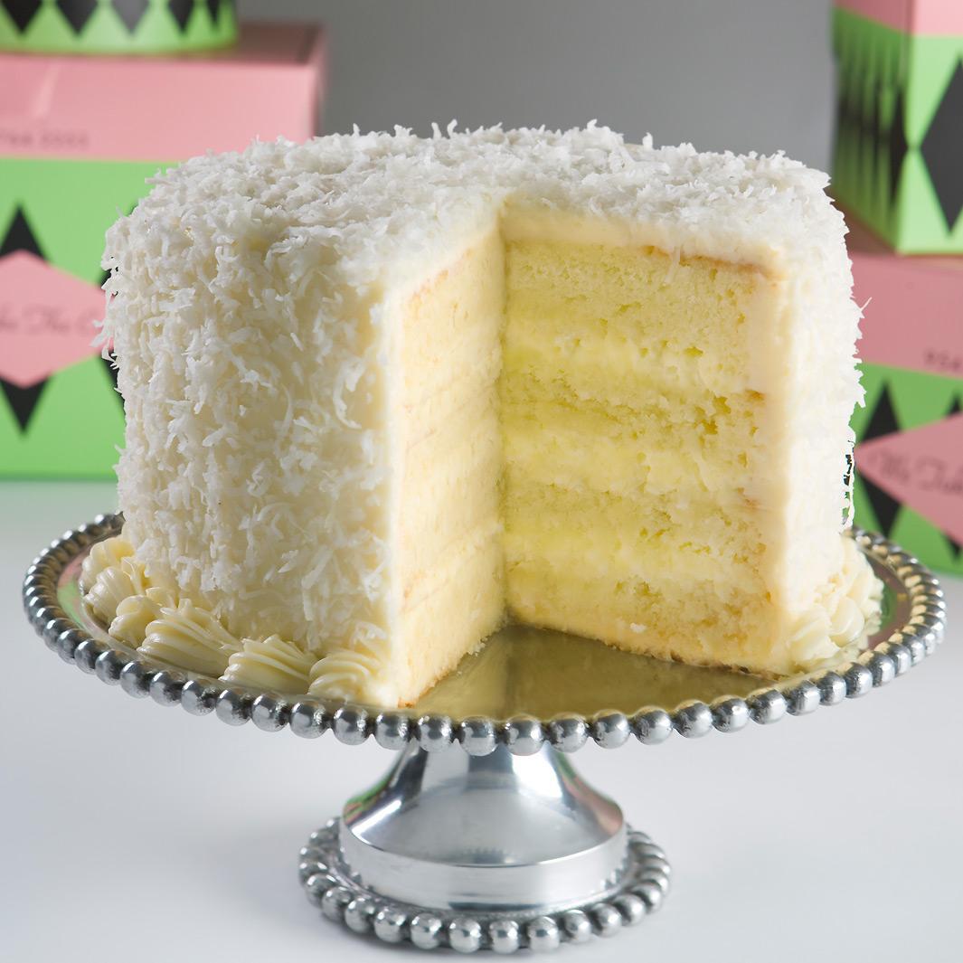Fresh Coconut Sheet Cake