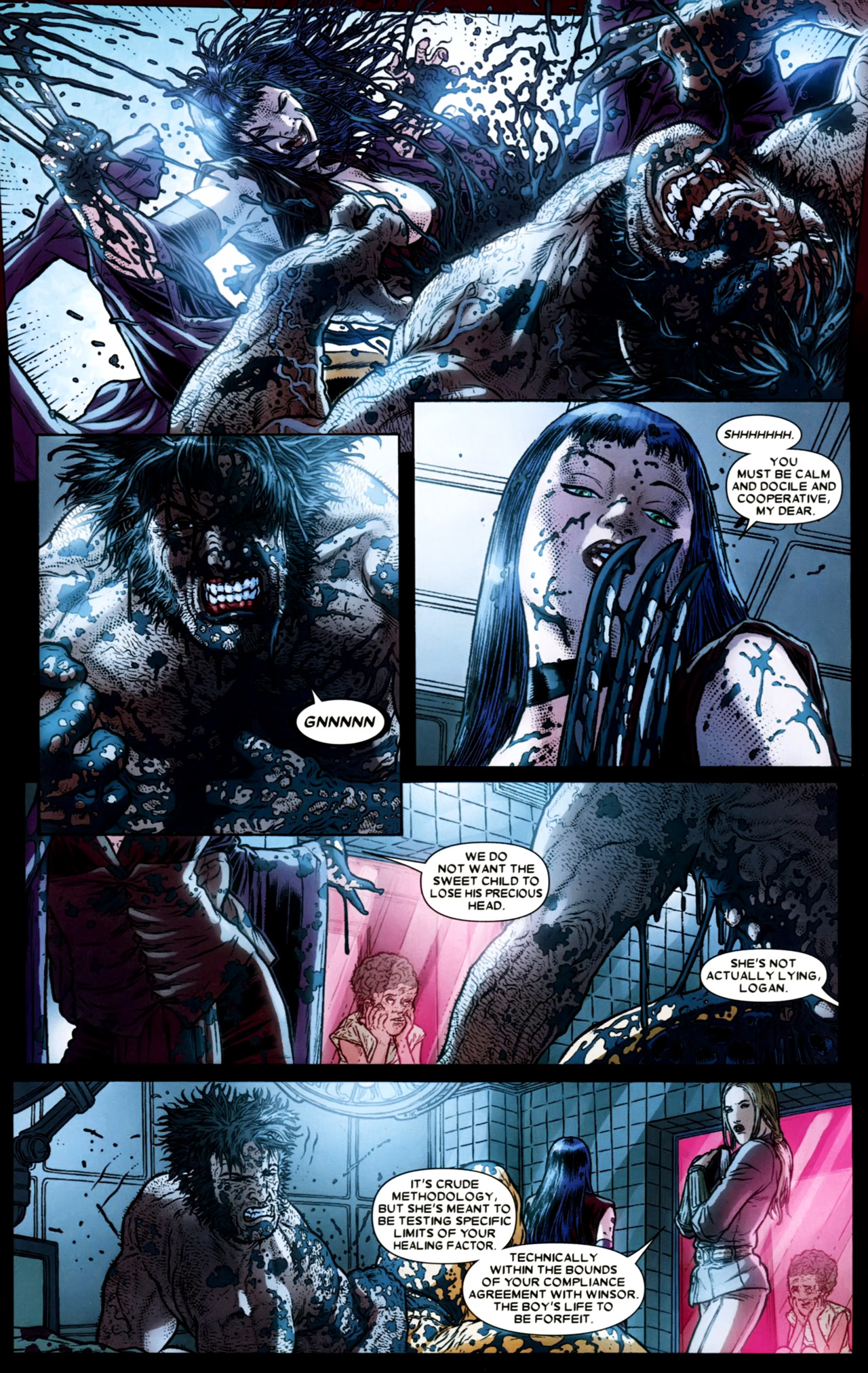 Read online Wolverine: The Best There Is comic -  Issue #4 - 7