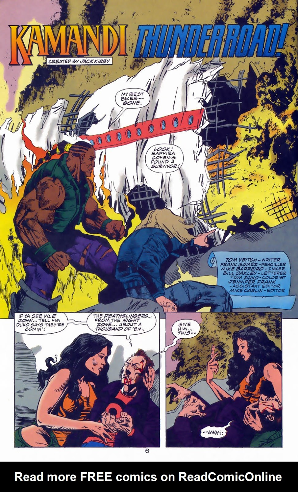 Read online Kamandi: At Earth's End comic -  Issue #3 - 8
