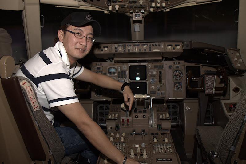 Pengambar Photography: Boeing 767 Cockpit Familiarisation at Flight