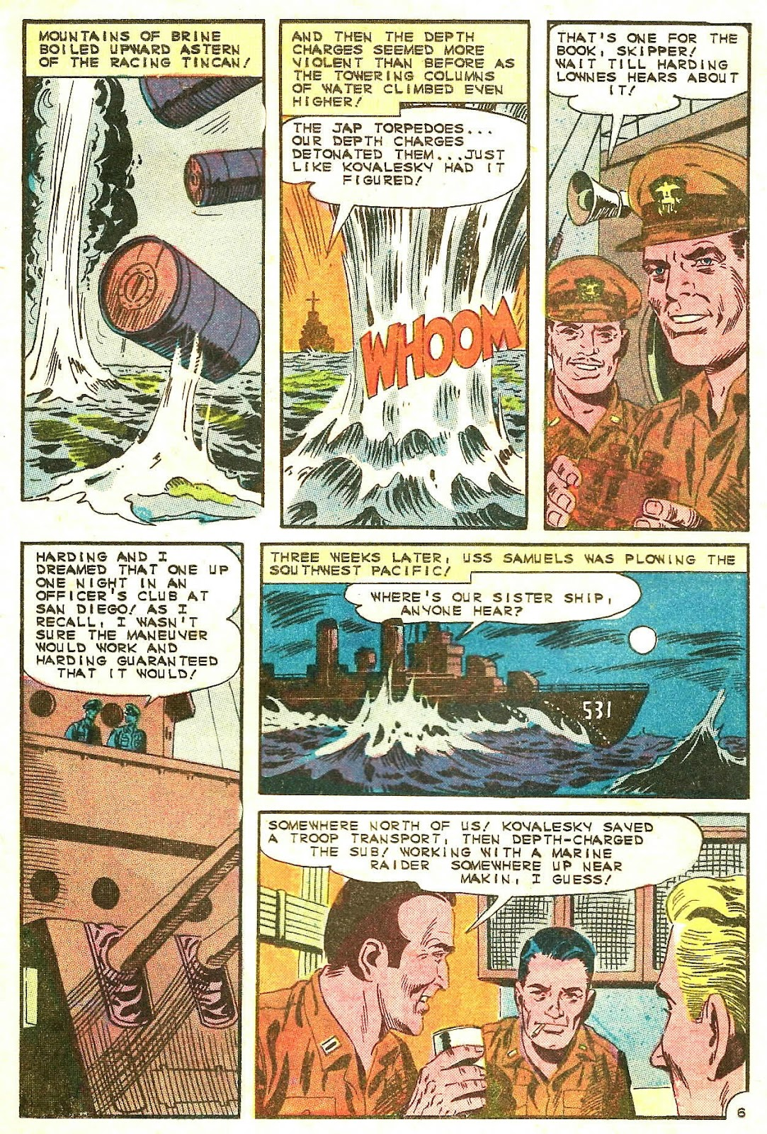 Read online Fightin' Navy comic -  Issue #125 - 20