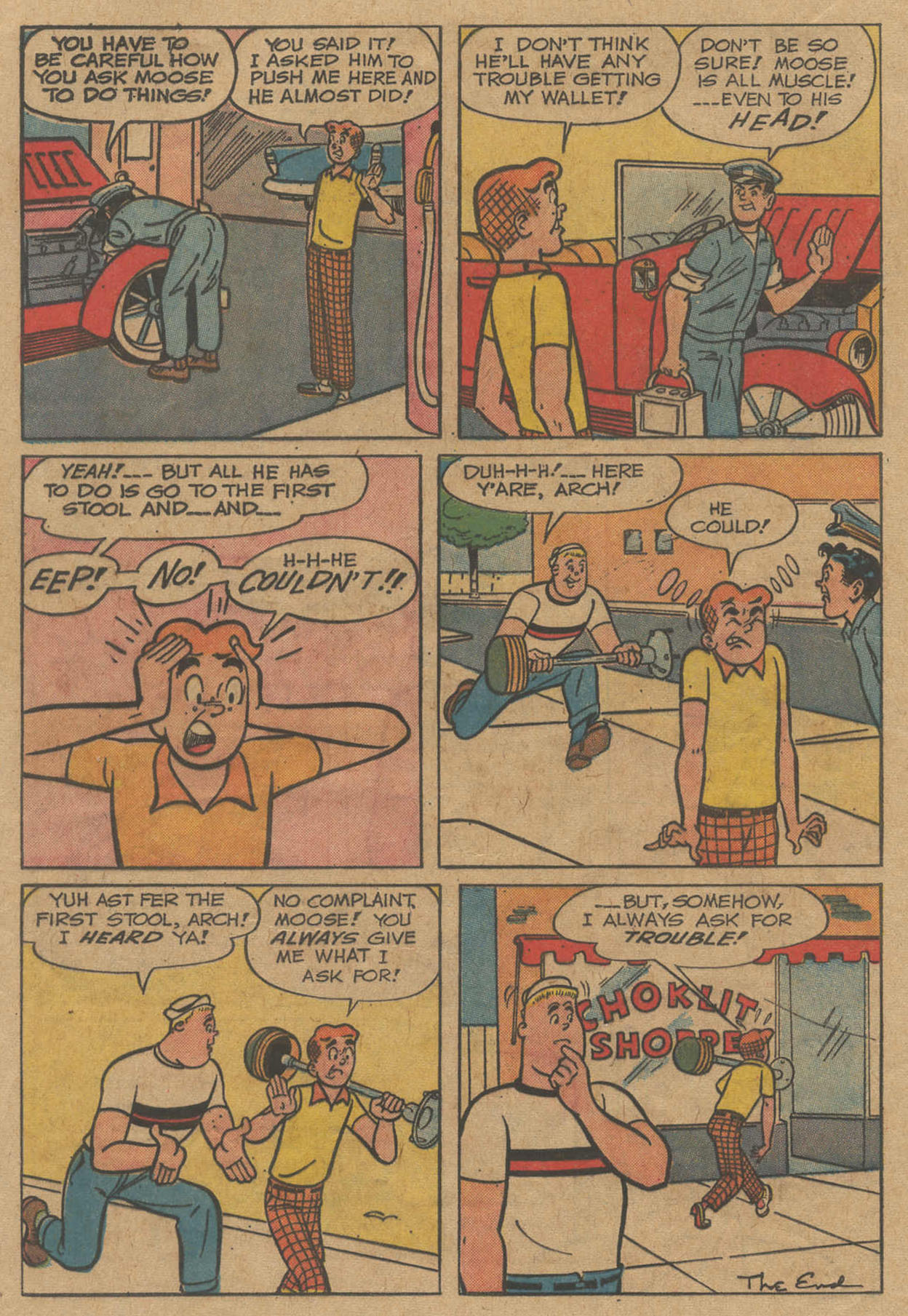 Read online Archie (1960) comic -  Issue #141 - 24