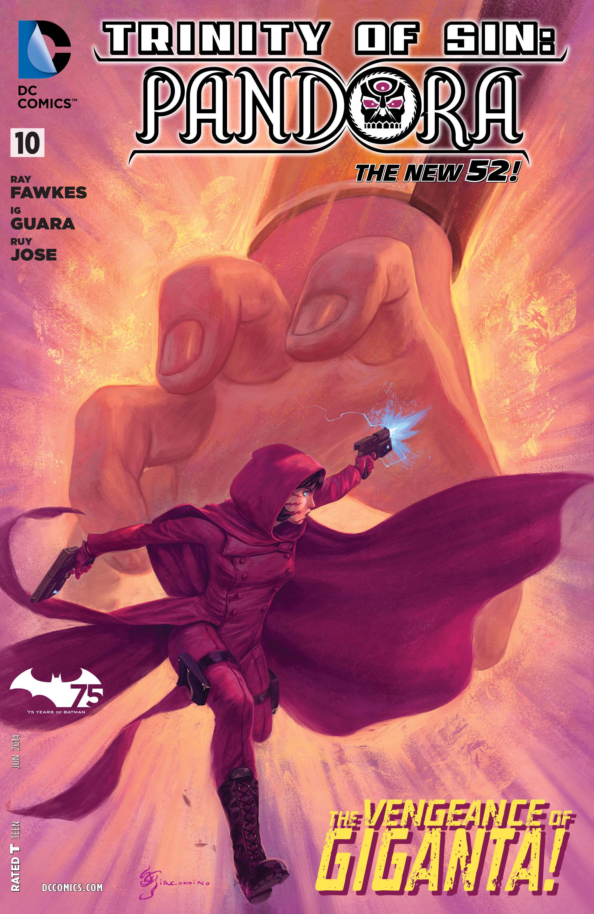 Read online Trinity of Sin: Pandora comic -  Issue #10 - 1