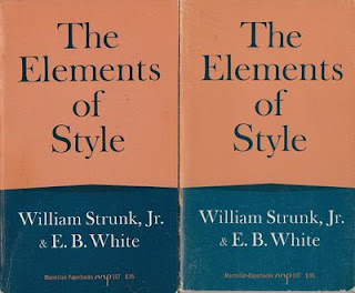 the rules of the english language in william strunk jr and eb whites the elements of style 52 quotes from the elements of style: the elements of style by william strunk jr 61,019 a brief space the principal requirements of plain english style.