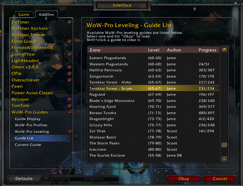 Elkagorasa the Casual: Addon Review: The New WoW-Pro Quest Helper