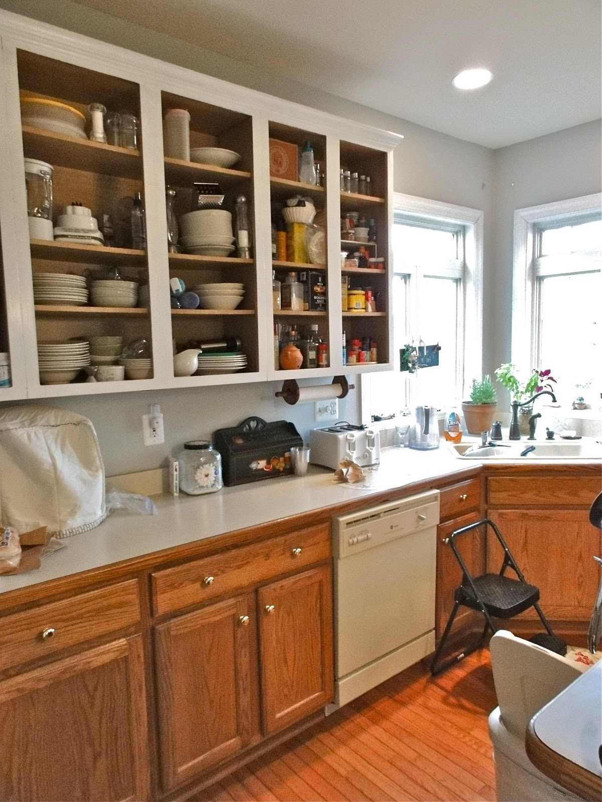 Behr Kitchen Cabinet Paint The Empty Nest: Busy Weekend And Icy Morning