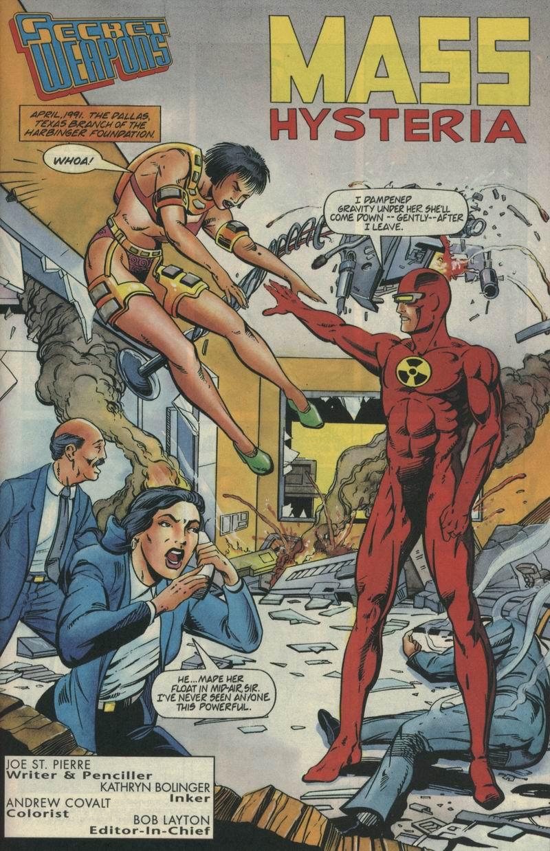 Read online Secret Weapons comic -  Issue #4 - 2