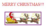 Ông già Nô En cưỡi tuần lộc nhân dịp Giáng sinh
