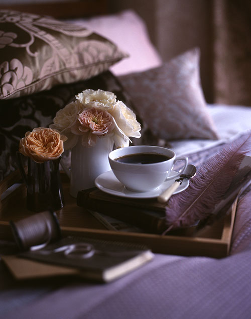house chic sunday morning and coffee in bed. Black Bedroom Furniture Sets. Home Design Ideas