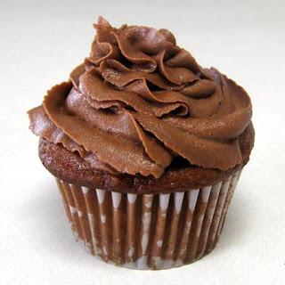 real chocolate cupcakes