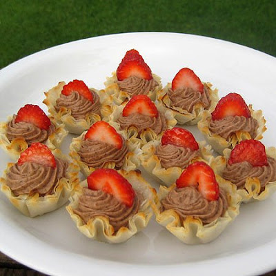 Pastry Cream Filled Fillo Shells Real Mom Kitchen