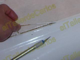 Eltallerdecarlos como lechear ba o rejuntado de ba o reparar juntas de ba era aplicar - Como quitar la silicona del bano ...