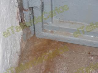 reparar puerta metlica que roza puerta atascada cmo ajustar puerta de hierro