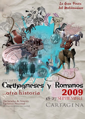 CARTEL FIESTAS CARTHAGINESES Y ROMANOS 2009